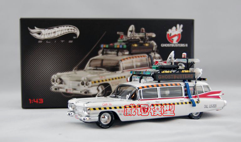 hotwheels elite speciale editie 1989 cadillac ghostbusters. Black Bedroom Furniture Sets. Home Design Ideas