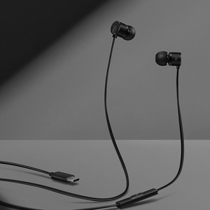 Image 3 - Orijinal OnePlus mermi 2t kulaklık tip c OnePlus mermi 2T kulak içi kulaklık için uzaktan Mic ile Oneplus 7 pro/6 T cep telefonu