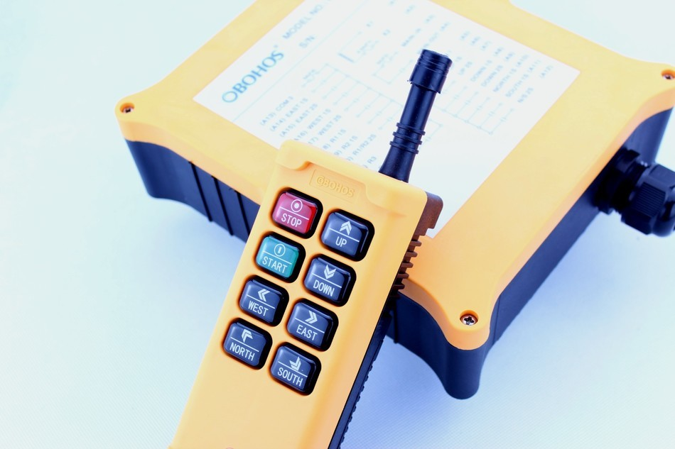 New Arrivals Crane Industrial Remote Control HS 8D6 Wireless Transmitter Push Button Switch China