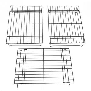 Image 4 - 3 Layers stackable cooling rack metal cake cookie biscuits bread cooling rack net mat holder dry cooler for cooking