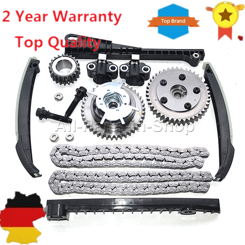 Timing Chain Kit Cam Phaser For Ford F F Lincoln Triton