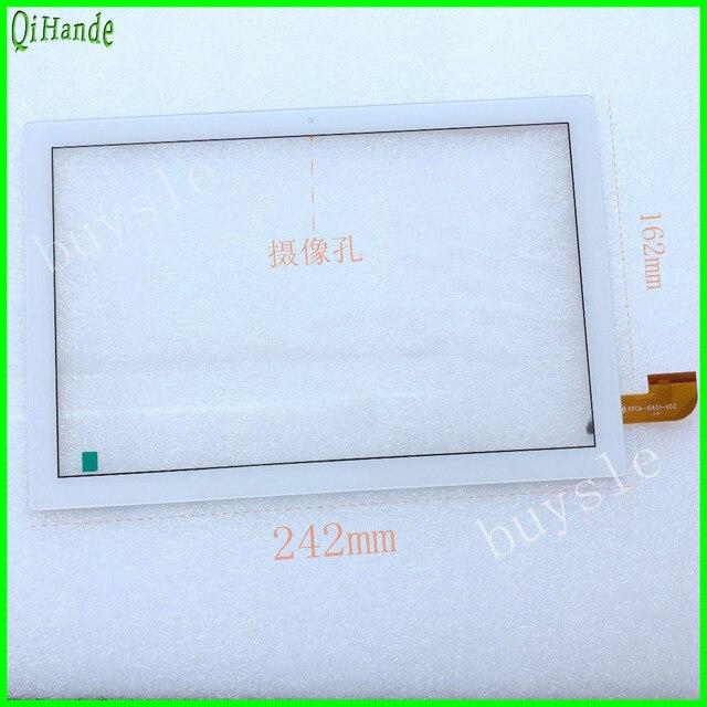 """جديد ل 10.1 """"teclast p10 اللوحي بالسعة لمس الشاشة لوحة محول الأرقام زجاج الاستشعار استبدال teclast tpad p10 الثماني النواة RK3368"""