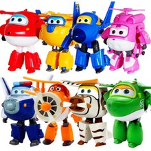13 styles Super Wings Action Figure Toys Big Airplane Robot Superwings Transformation Anime Cartoon For Children Boys Gift