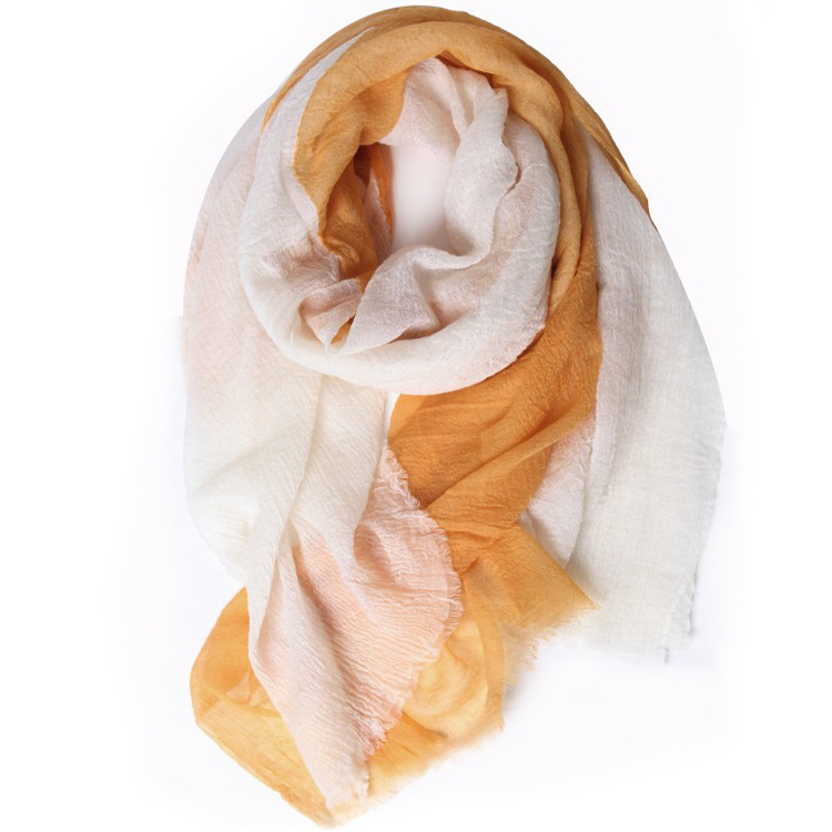 100%merino wool wrinkles patchwork color women's thin scarfs shawl pashmina 100x200cm wholesale retail
