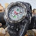 EPOZZ марка световой Мужской наручные часы цифровые Мужчины Спортивные Часы Военные часы водонепроницаемые relogio masculino montre homme