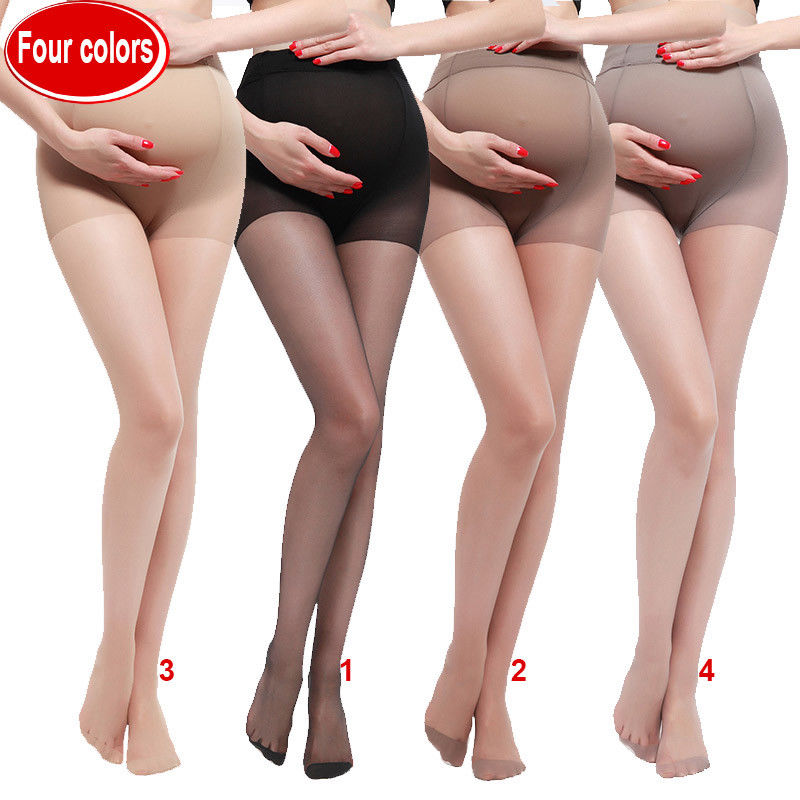 Leg-Pants Maternity-Clothings Pregnant Thin-Sock Hosiery Sexy Breathable High-Elastic title=