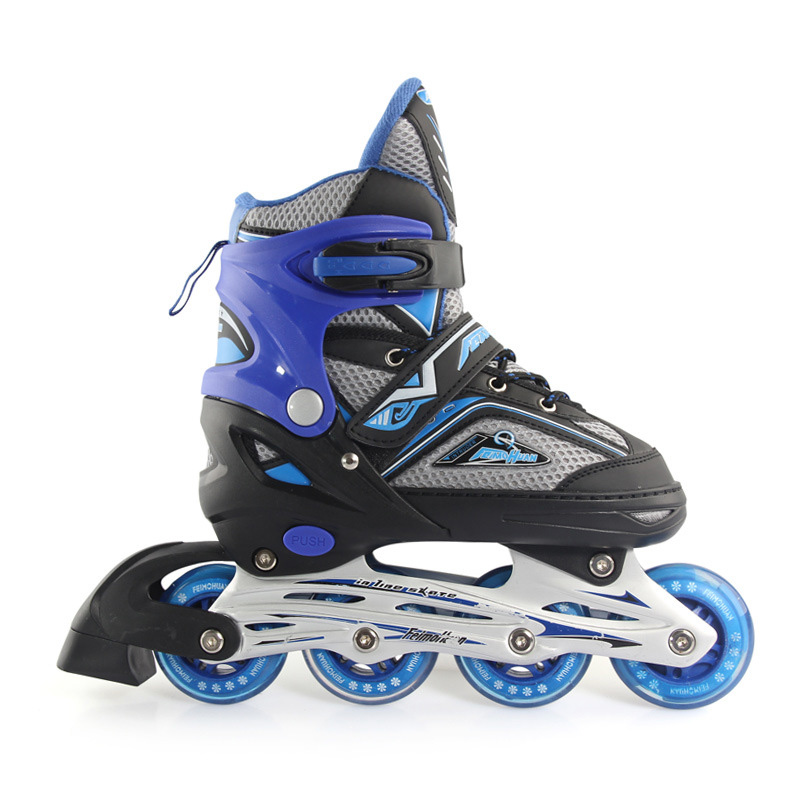 NEW Inline Professional Women Adult Kids Slalom Sliding Ice Skates Skating Shoes Adjustable All Wheels Flashing Patines 3 ColorNEW Inline Professional Women Adult Kids Slalom Sliding Ice Skates Skating Shoes Adjustable All Wheels Flashing Patines 3 Color