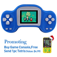 New Arrival Portable 2.0 Inch Retro Game Handheld Player Built In 203 Classic Games Video Game Console Kids Game Console