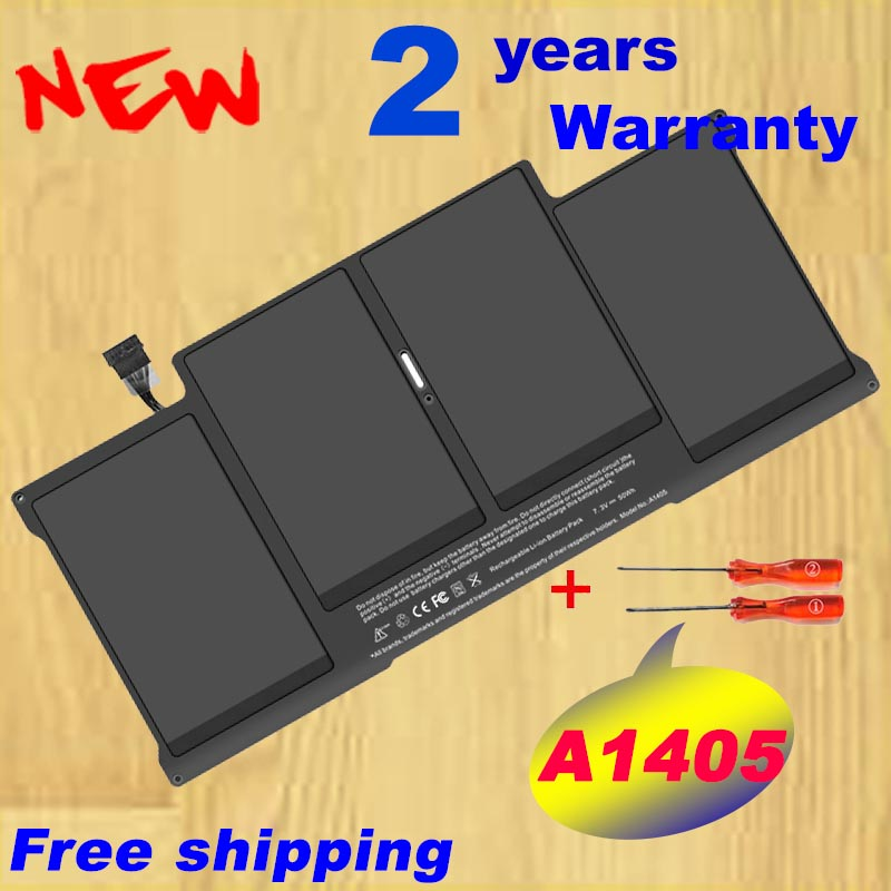 Wholesale New laptop Battery for Apple MacBook Air 13 A1466 2012 year A1369 2011 production Replace A1405 battery стоимость