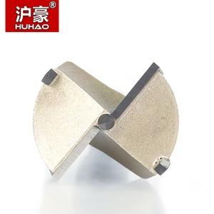 Инструменты для деревообработки HUHAO, 1 шт., 12 мм-80 мм, сверла с круглыми хвостовиками, вольфрамовый твердосплавный резак