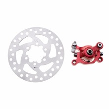 GOOFIT RED Brake Caliper+120mm Disc Rotor Brake Front Rear for MBX10 M