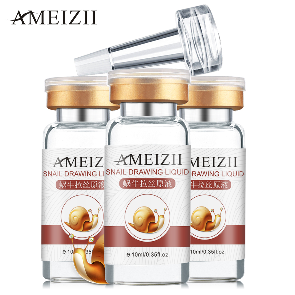 AMEIZII Snail Essence Hyaluronic Acid Serum Day Cream Moisturizers Whitening Lifting Firming Essence Anti-Aging Facial Skin CareAMEIZII Snail Essence Hyaluronic Acid Serum Day Cream Moisturizers Whitening Lifting Firming Essence Anti-Aging Facial Skin Care