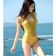 2015 New Women One piece women swimwear Sexy monokini Swimsuit moda praia womens swim wear bathing suit for