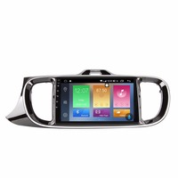 9 Android 8,0 аудио gps навигационный плеер для Kia Pegas стерео головное устройство
