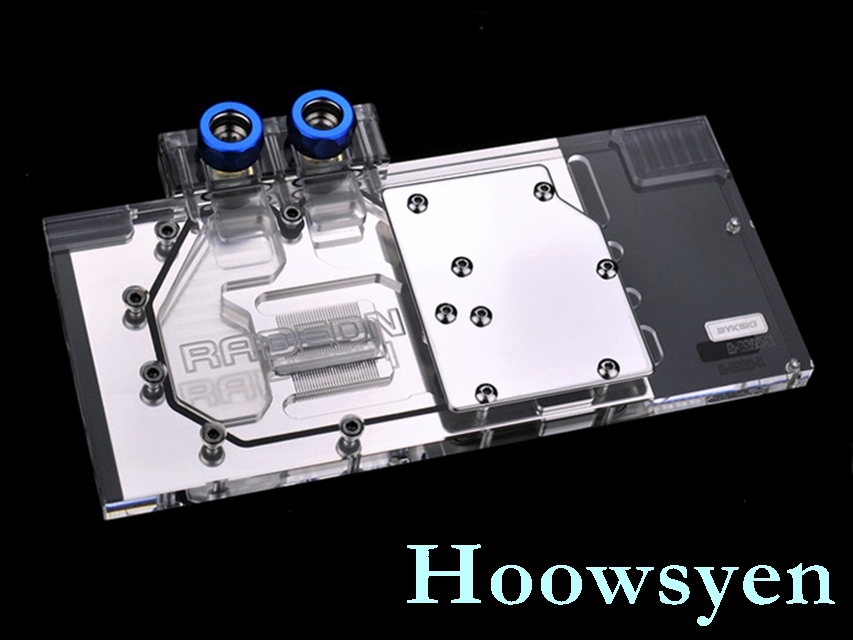 A-MS28-X R9 280X 280 GAMING full coverage water cooled head water jacket
