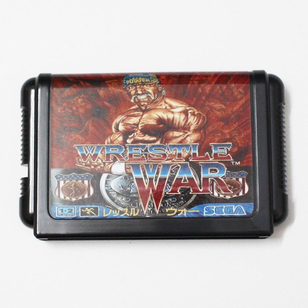 Wrestle War 16 bit MD Game Card For Sega Mega Drive For Genesis