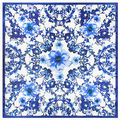 60*60cm Spring and autumn Chinese style retro blue and white porcelain silk scarf for Ladies bag warm scarves for wome lic A004