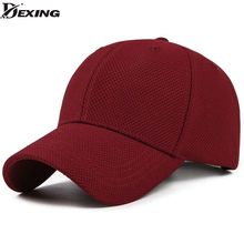 ce63663bb72 Spandex Elastic Fitted Baseball Cap men Casual Snapback Caps Women Trucker  Casquette Dad Hat red color baseball cap vintage