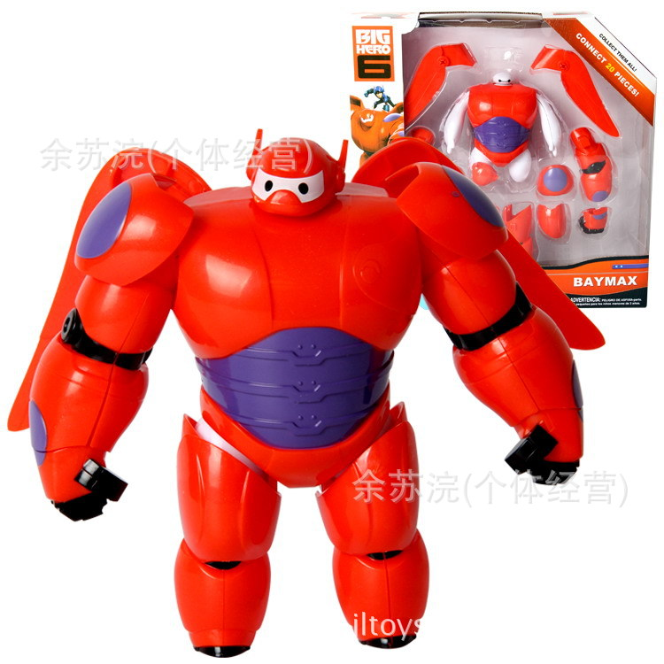 2017 sell like hot cakes Big Hero 6 Baymax Deformation edition action figure Furnishing articles Children's toys Holiday gifts like hi 6