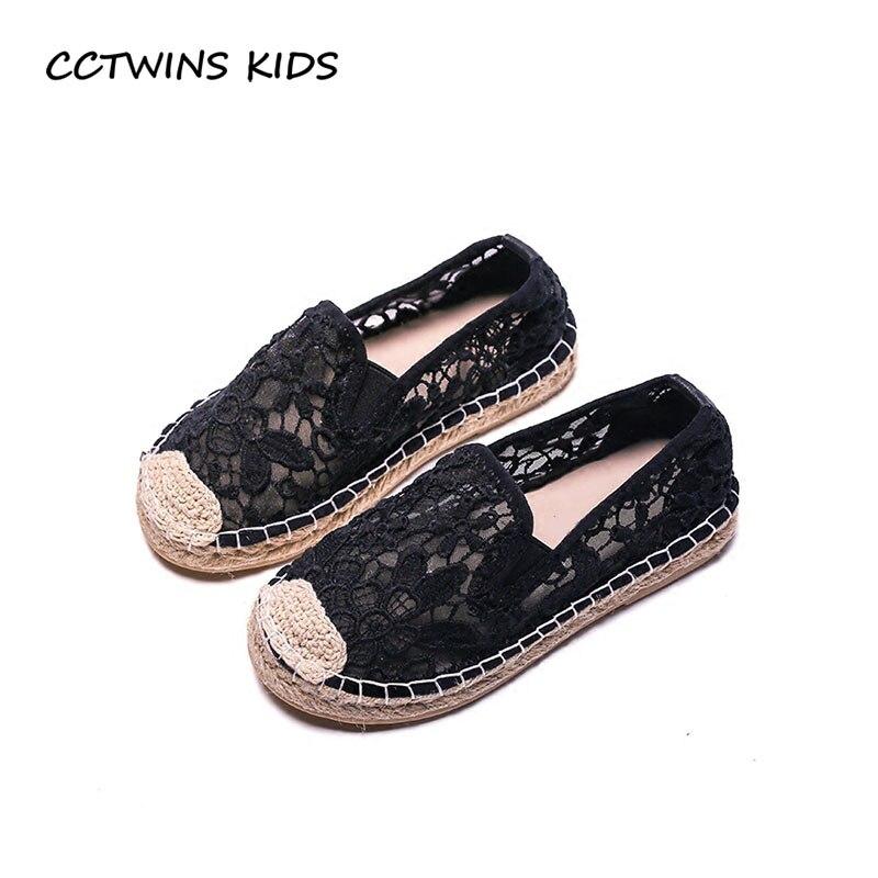 CCTWINS KIDS 2018 Spring Children Black Fashion Casual Shoe Toddler Brand White Espadrille Baby Girl Slip On Flat GE1685 adidas performance natweb i slip on shoe toddler