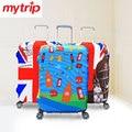 Mytrip 20 / 24 / 28 / 32 polegada engrosse viagem bagagem mala tampa protetora / Elastic caso à prova de poeira capa para mala