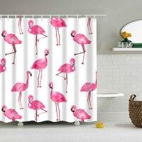 New Colorful Eco Friendly Flamingo Animal Dog Hippo Cat Polyester Waterproof High Quality Washable Bath Decor