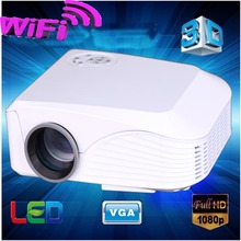 Factory supply Full HD 3D mini LCD led projector with HDMI VGA AV USB SD ports perfect for home theater enjoy