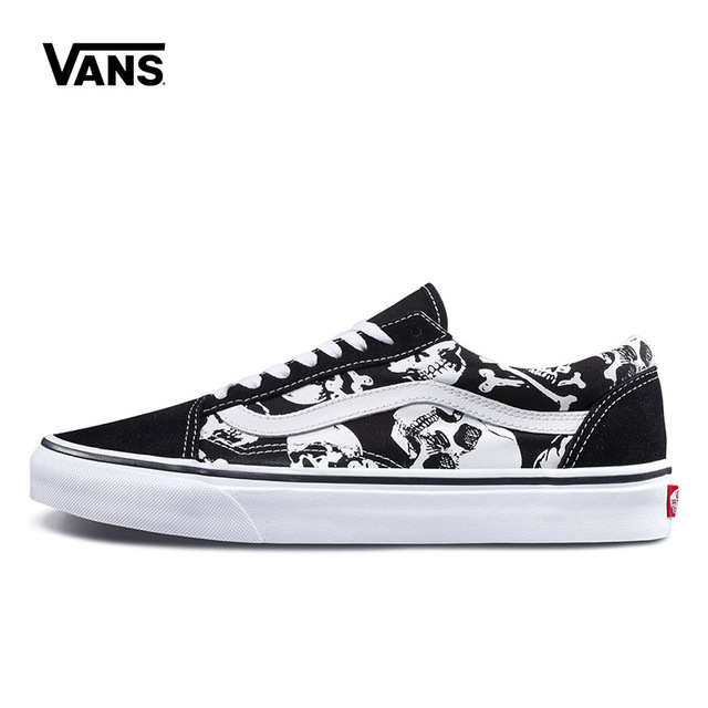 f00492d2ac87dd Original New Arrival Vans Men s   Women s Classic Old Skool Low-top Skateboarding  Shoes Sneakers Canvas Comfortable VN0A38G1H0B