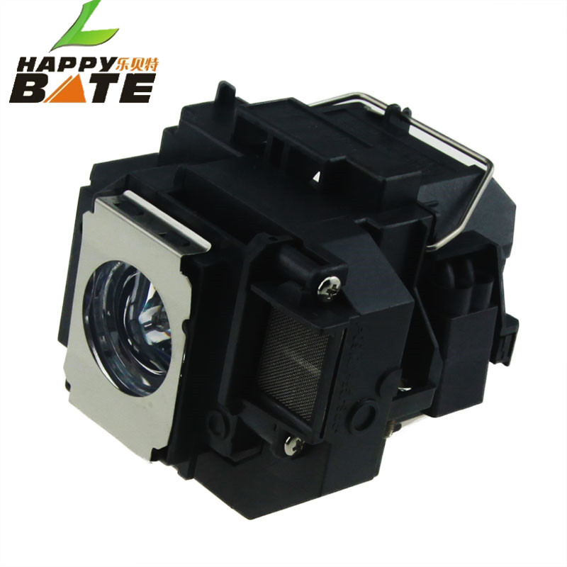 Happybate projector lamp ELPLP58/ V13H010L58 for PowerLite X9 PowerLite S9 S10+ PowerLite 1260 H391A H376B H375A H375B H374B compatible projector lamp for epson elplp75 powerlite 1950 powerlite 1955 powerlite 1960 powerlite 1965 h471b