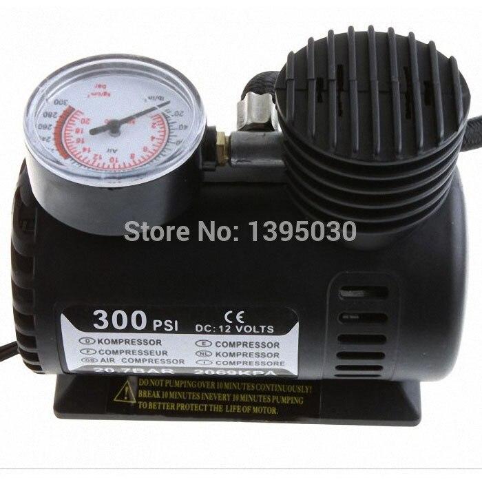 Car Auto Electric Pump Air Compressor Portable Tire Inflator