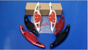 QDAEROHIVE koło samochodowe steering shift trim paddle stickers Extension Shifters dla HONDA FIT 2017-2019 civic 2017-2019 VEZEL 15-18 tanie i dobre opinie Steering Wheel Shift Paddle Aluminum FRONT China