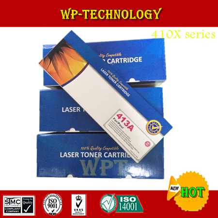 4cps color new compatible toner cartridges suit for Hp410X Hp411A Hp412A Hp413A , suit for HP Laserjet 300 400 sereies printer. 2x non oem toner cartridges compatible for oki b401 b401dn mb441 mb451 44992402 44992401 2500pages free shipping