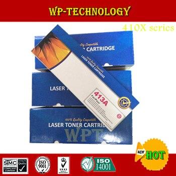 4cps color new compatible toner cartridges suit for Hp410X Hp411A Hp412A Hp413A , suit for HP Laserjet 300 400 sereies printer.