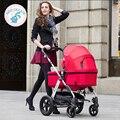 Bolsa de cochecito de bebé del carro de bebé de alta paisaje puede sentarse coche de amortiguación de choque ligero Rusa libera el envío