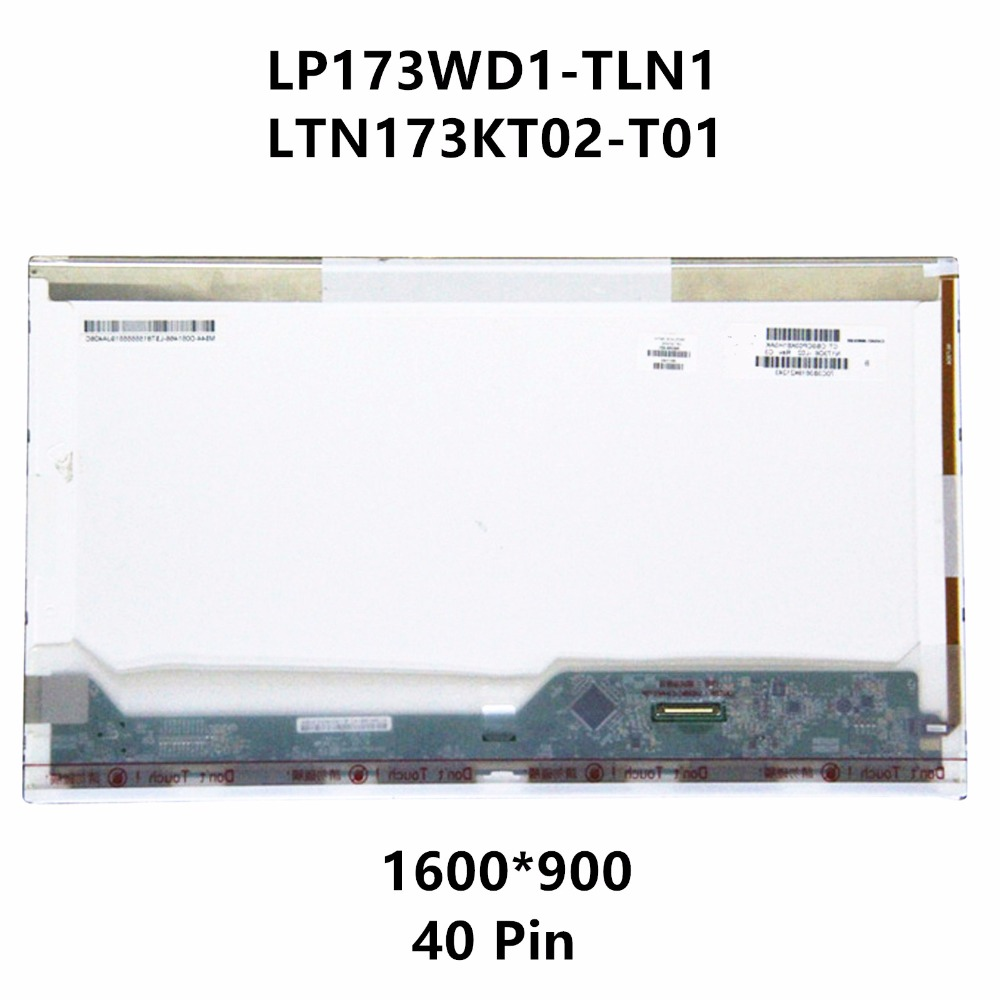 LP173WD1 TLN1 LTN173KT02-T01 N173FGE-L21 B173RW01 V.5 N173O6-L01 N173O6-L02 LCD Screen Matrix For HP Pavilion G72-B60US B66US ltn173kt02 t01 ltn173kt02 t01 laptop lcd screen original new led 1600 900 wxga hd glossy display