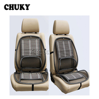 CHUKY 1x Car Cool Seat Cover Lumbar Support Cushion For Toyota Corolla CHR BMW E46 E39 E90 Honda Civic 2006 2011 CRV Accessories