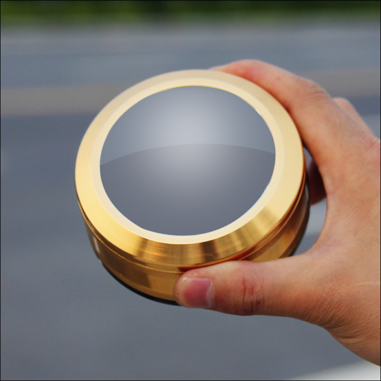 3.5X 90mm Clear Lens Glass Magnifying Lens Desk Loupe Metal Frame Magnifier for Reading