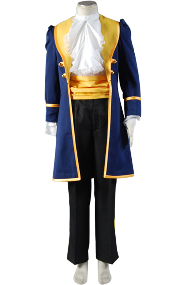 Beauty and the Beast Cosplay Prince Costume For Adult Adam Costume Full Set Uniform Halloween Carnival Movie Costume Men
