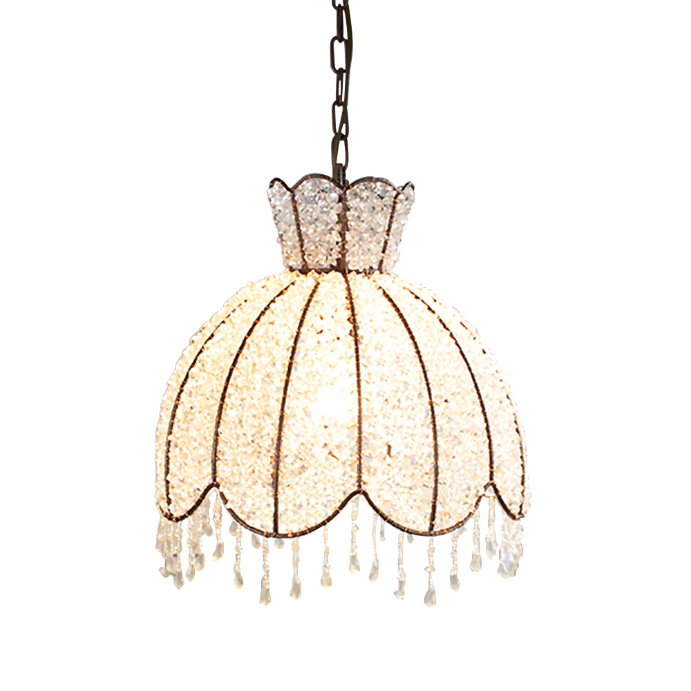 Mediterranean Vintage wrought iron lamp Lighting Holder Pendant Light Aisle Lights Lamp pastoral village restaurant cloakroom