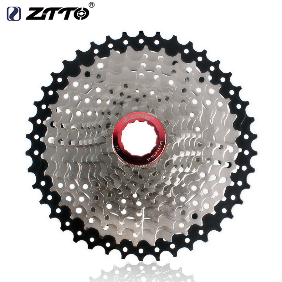 ZTTO Mountain Bike 11 Speed Cassette Wide Ratio 11-42t MTB Bicycle Freewheel Sprockets For Shimano M7000 M8000 M9000 ztto black bicycle freewheel 11 speed 11 46t wide ratio mtb bike cassettes sprockets for shimano xt slx m7000 m8000 m9000