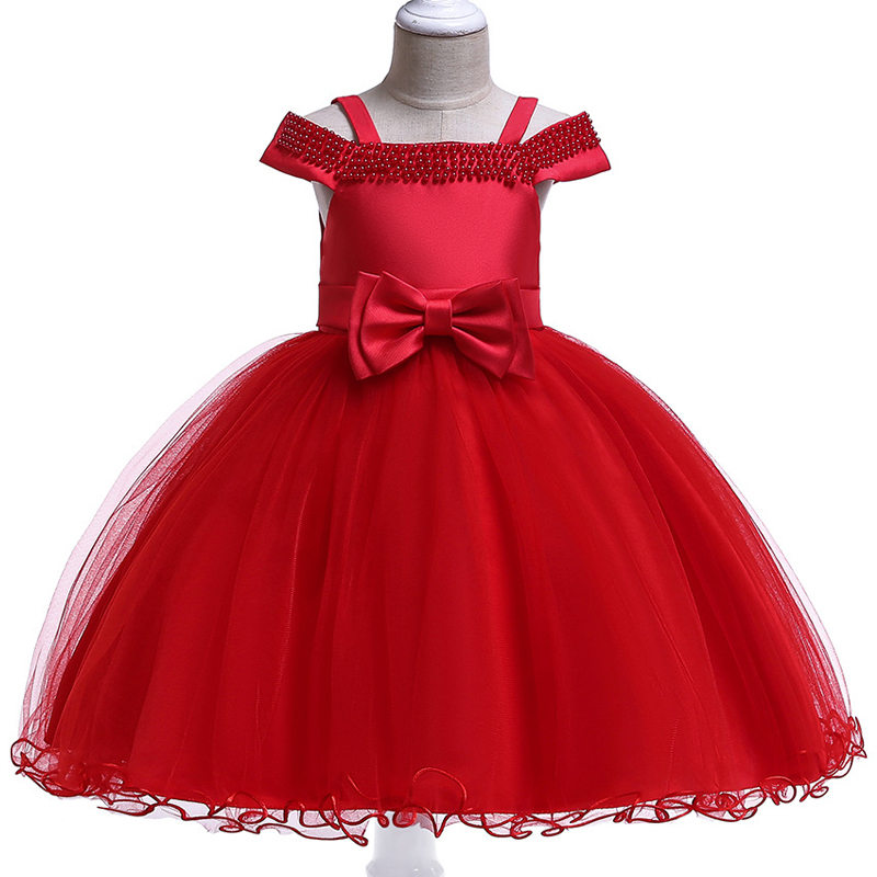 Flower     girl     dresses   for weddings children's clothing   girls     dress   first communion princess beading   dress   baby tutu costume
