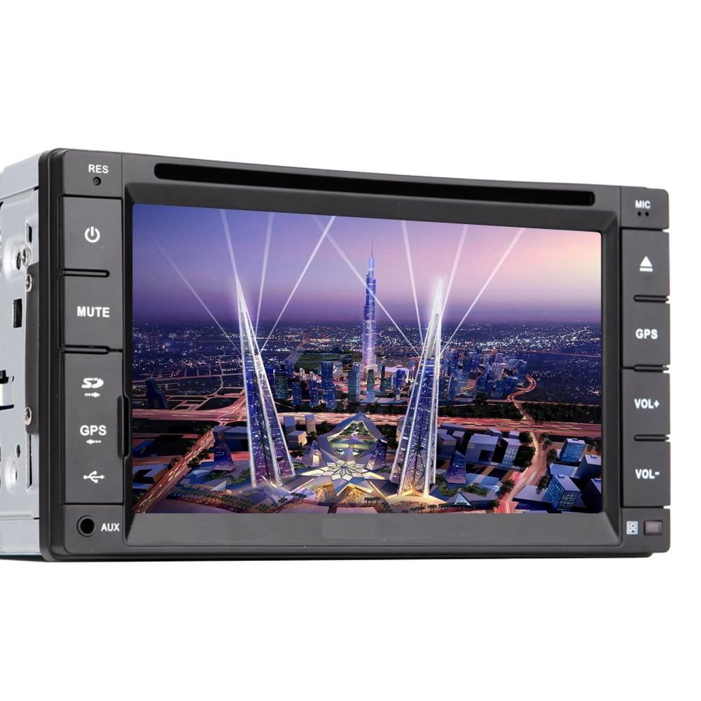 Stereo GPS Map Bluetooth Autoradio 3D EQ iPod 6.2 Radio PC Electronics Receiver Video Car DVD Player Audio MP4