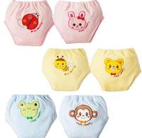 Winter/Autumn Style Newborn Baby Cartoon Embroidery Waterproof Diapers Cover /Reusable Nappies/Training Pants 2PCS/lot