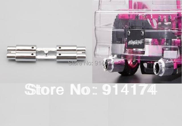 yukala 110 rc car accessories rc car parts twin escapepipe