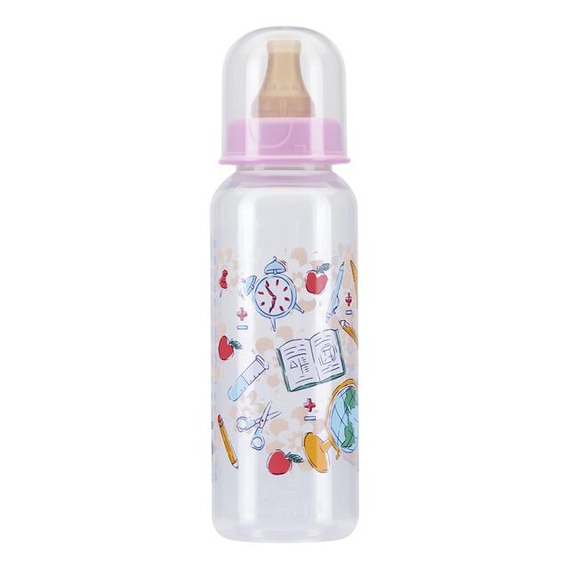 Бутылочка КУРНОСИКИ с латексной соской молочной, 250 мл