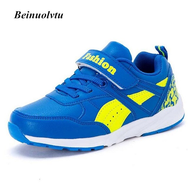 2017 Trendy Kids Sneakers Sports shoes Comfortable Boys Running shoes Children Sneakers Girls Light Kids shoes Baby
