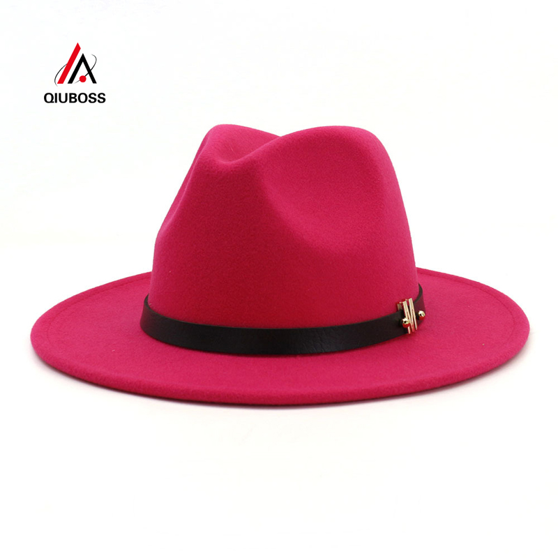 where can i buy big discount well known US $9.11 43% OFF|Large Size 60 CM Plain Wool Felt Jazz Fedora Hats Caps Men  Women Wide Brim Vintage Chapeau Trilby Derby Panama Cap Bowler Hat-in ...
