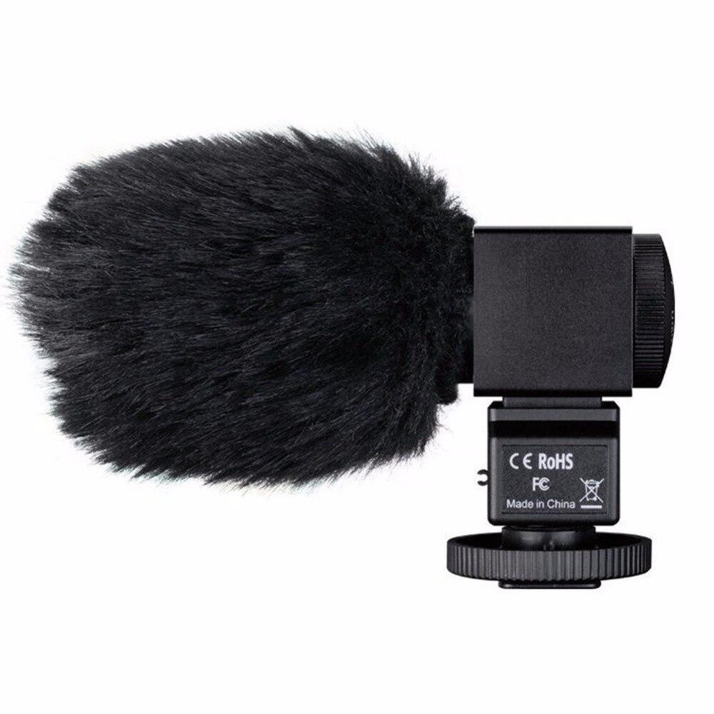 Microphone SGC-698 Pro Photographie TAKSTAR MIC Interview Sur-caméra Microphone D'enregistrement Mic pour Nikon Canon Sony DSLR Caméra