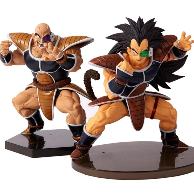 Anime Dragon Ball Z Raditz And Nappa Action Figure PVC Vegeta Figurine Toys CEECILIO NABA