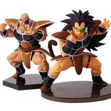 Figuras de acción de Dragon Ball Z, Anime de PVC, CEECILIO NABA, Raditz y Nappa, Vegeta
